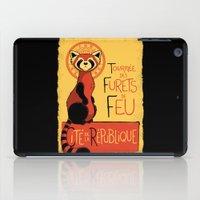airbender iPad Cases featuring Les Furets de Feu by adho1982