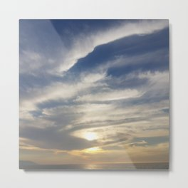 mexican sunsets Metal Print