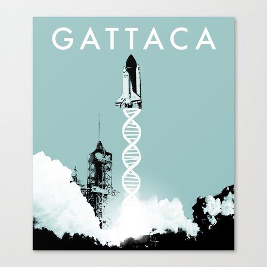 Gattaca - Movie Poster Canvas Print