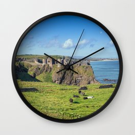 The Atlantic Ruin Wall Clock