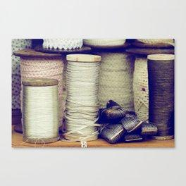 Thread Canvas Print