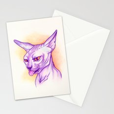 Sphynx cat #02 Stationery Cards