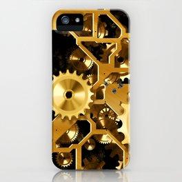 Gears iPhone Case