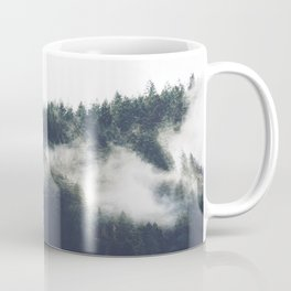 Abstract Forest Fog Coffee Mug