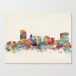 toledo ohio skyline Canvas Print