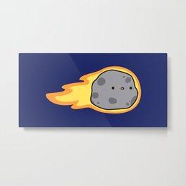 Cute comet Metal Print