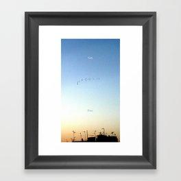 The Flight Framed Art Print