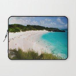 Bermuda Costal Beach Laptop Sleeve