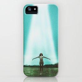 Alien Abduction iPhone Case