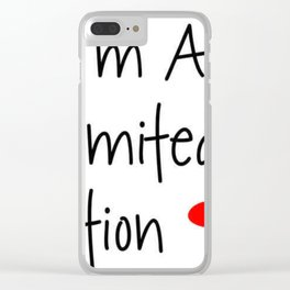 I'm a limited edition Clear iPhone Case