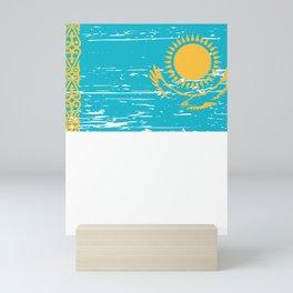 Kazakhstan Gift Idea for Kazakh Mini Art Print