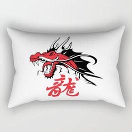 Dragon's head Rectangular Pillow