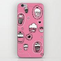 cupcakes iPhone & iPod Skins featuring Cupcakes! by Duru Eksioglu