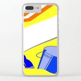 Beach arrangement Clear iPhone Case