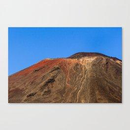 Mount Ngauruhoe Canvas Print