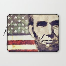Patriot President Abraham Lincoln Laptop Sleeve