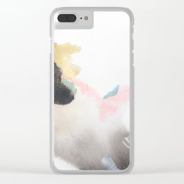 Mixed Media 5071 Clear iPhone Case