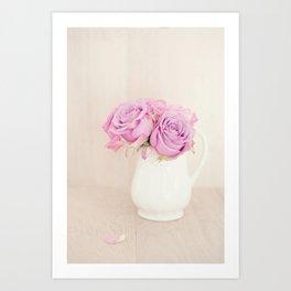 Rose Flower Stilllife Art Print