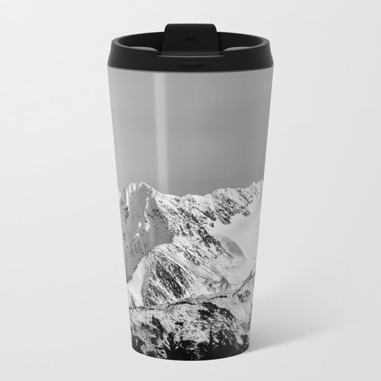 Mountain Glacier Two Metal Travel Mug