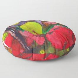 Broken Petals  Floor Pillow