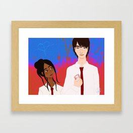 Sophia and Joshua Framed Art Print