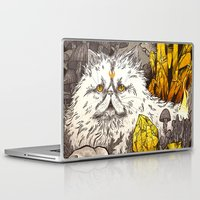 witchcraft Laptop & iPad Skins featuring Witchcraft by Angela Rizza