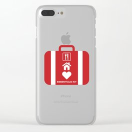 Essentials Kit Clear iPhone Case