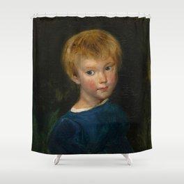 """Eugène Delacroix """"Marguerite-Juliette Pierret"""" Shower Curtain"""
