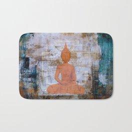 Buddha Mandala Bath Mat