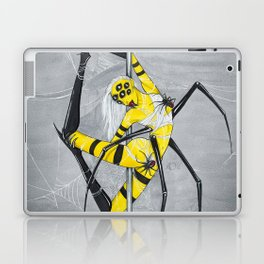 Poletober - Spider Laptop & iPad Skin