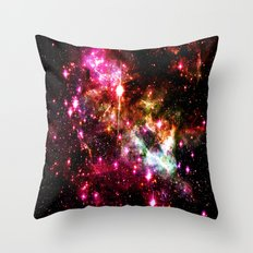 Tarantula Nebula Astral Fireworks Throw Pillow