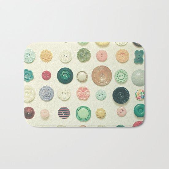 The Button Collection Bath Mat