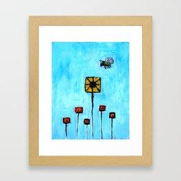 Buidling blocks from life Framed Art Print