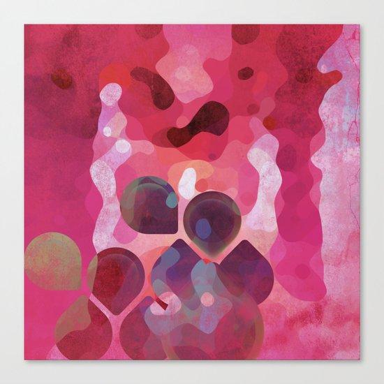 Drops of Passion Canvas Print