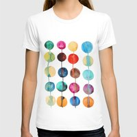 planets T-shirts featuring Planets by Mille Dørge