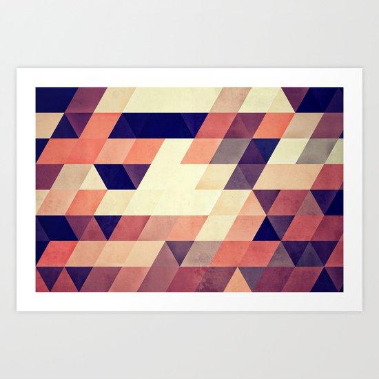 TRYYNGL MYX Art Print