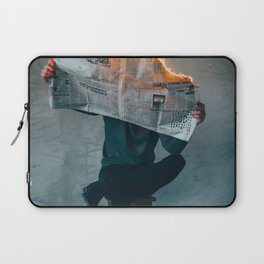 The World on Fire (Color) Laptop Sleeve