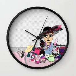 Shawna from The Sweety Peas Wall Clock