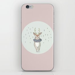 Mountain deer iPhone Skin