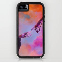 La Création d'Adam - Dorian Legret x AEFORIA iPhone Case
