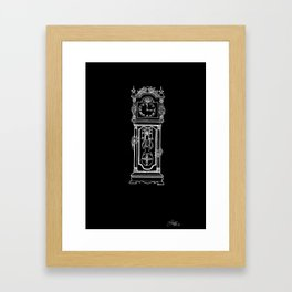 the witching hour. {blackxbone edition} Framed Art Print