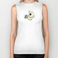 bunny Biker Tanks featuring Bunny by Bill Giersch