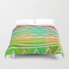 Rainbow Window Duvet Cover