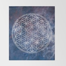 Sacred Geometry Universe 5 Throw Blanket