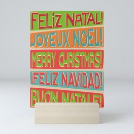 Christmas II Mini Art Print