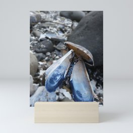 The World is Your Mussel Mini Art Print