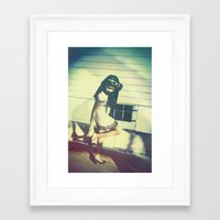heels Framed Art Prints featuring Heels by David Reisinger