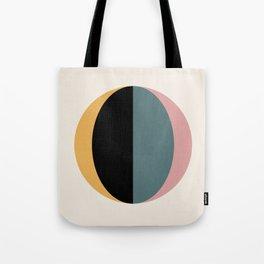 Mod Circle Abstract V Tote Bag