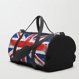 Vintage England flag Duffle Bag