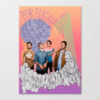 posters Canvas Prints featuring Posters by Claudia Reese